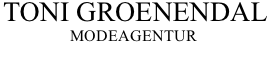 Toni Groenendal - Modeagentur